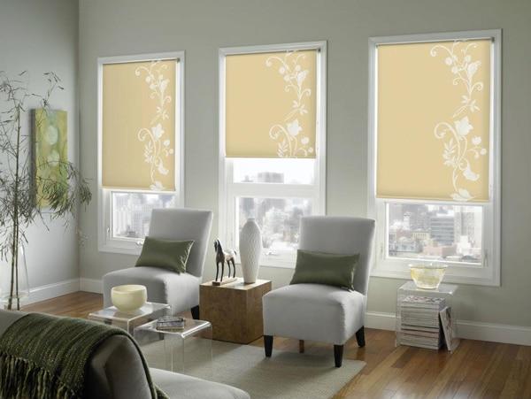 fenstervorh nge vs blinds vs shades treffen sie die. Black Bedroom Furniture Sets. Home Design Ideas