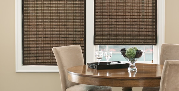 woven wood blinds are popular in Hawaii