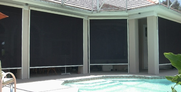 How Do Exterior - or Outdoor - Shades Work? - Blindsgalore Blog