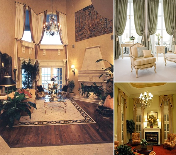 living room picture window treatment ideas - 5 Tall Window Treatment Ideas For Tall Windows