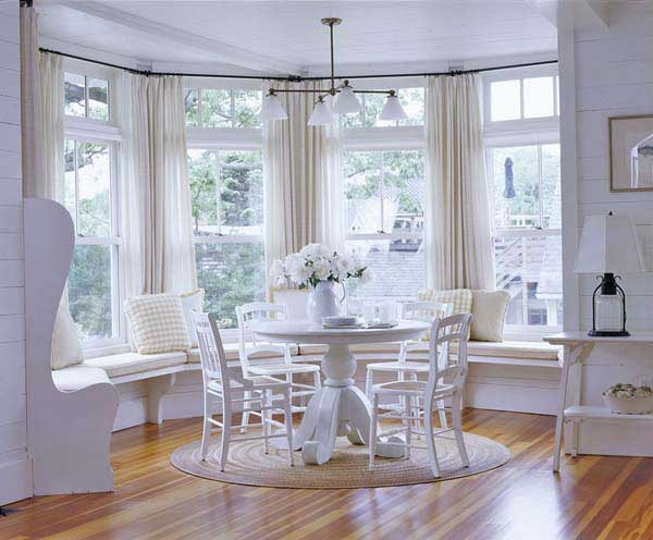 When It Comes To Window Treatments For Bay Windows Some May Be Intimidated Because Of The Angles And Fact That S Not Just One Three