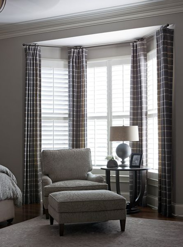 Tags Bay Window Windows Curtains Drapery D Natural Shades Roman