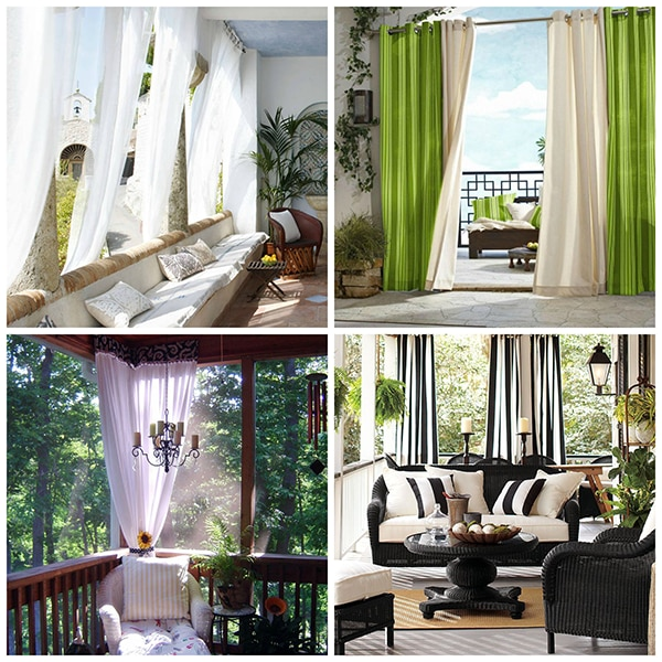 Selecting Outdoor Curtains, What Is The Best Material For Outdoor Curtains