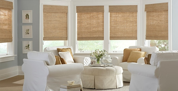 Roman Shades Window Treatment Ideas