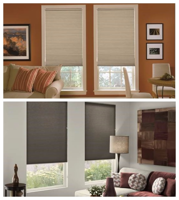 Source: Blindsgalore Cellular Shades