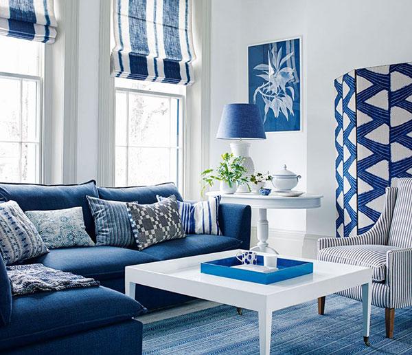 Beautiful Blue And White Window Treatments Blindsgalore Blog