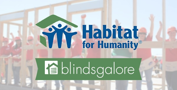 Blindsgalore and Habitat For Humanity Make Good Homes