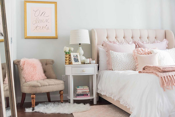 How To Design With Blush Pink Blindsgalore Blog