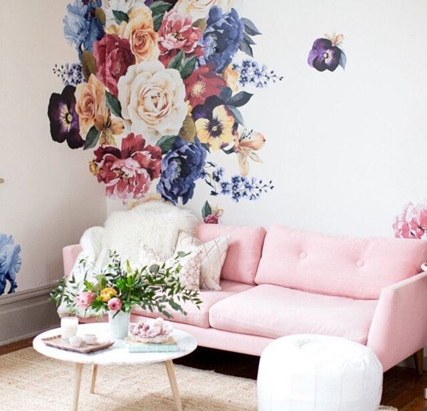 5 Places For Florals In Your Home - Blindsgalore Blog