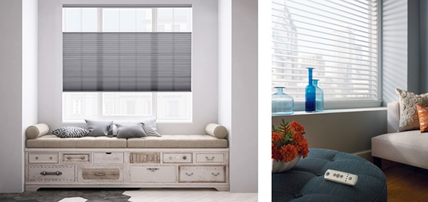 Source: Blindsgalore Cell Shades, Comfortex Light Filtering Shades