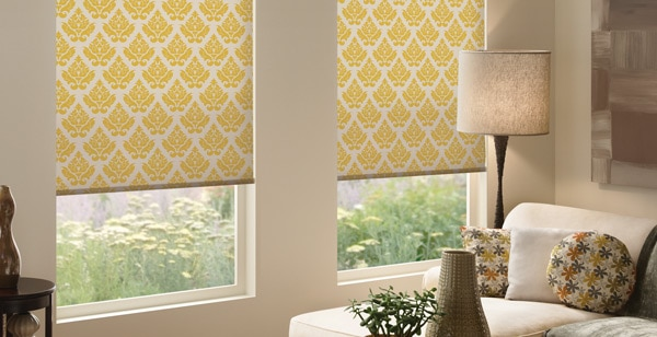 How To Decorate With Roller Shades
