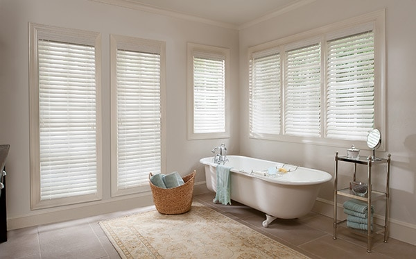 7 Bathroom Window Treatment Ideas For