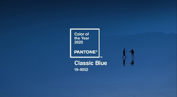 Pantone's Color of the Year for 2020 is Classic Blue