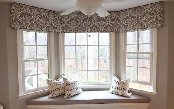 Window Valance Ideas, Valances For Living Room
